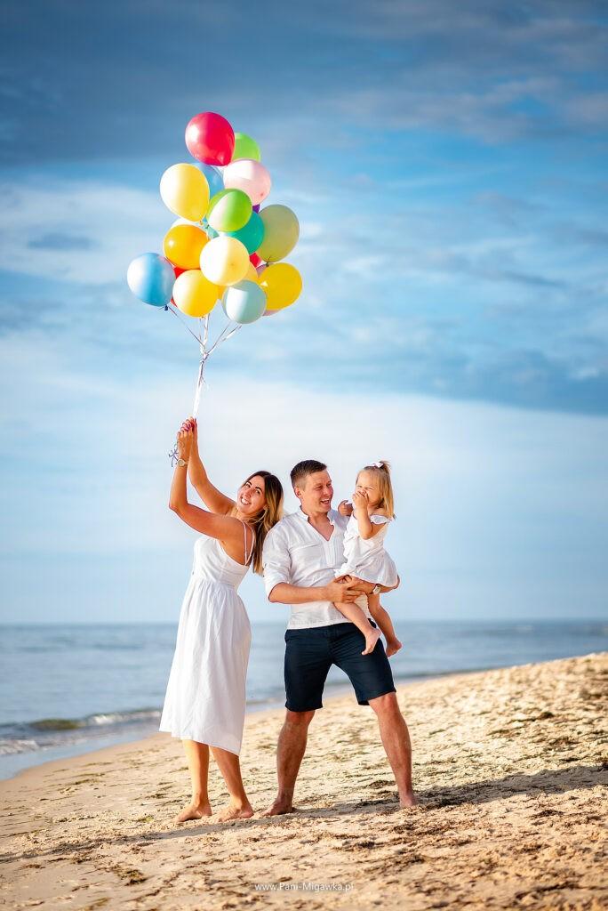 Rodzinna sesja zdjęciowa nad morzem | fotograf Zielona Góra