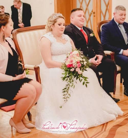 Fotograf weselny Zielona Góra Pokojska Paulina